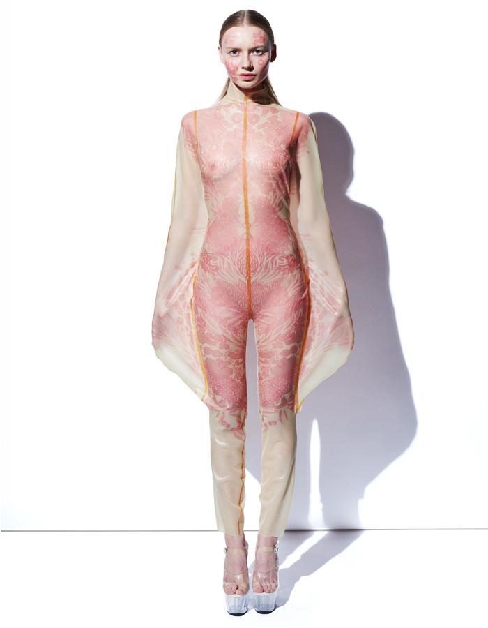 Alex Ulichny Printed Skinsuit