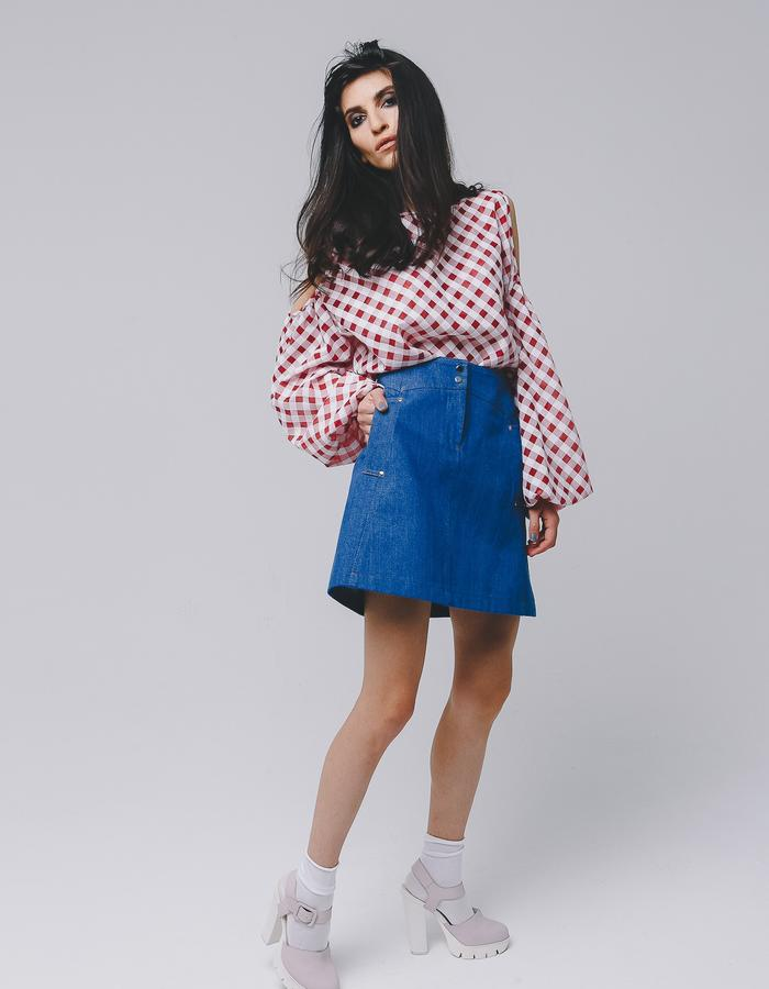 MIRO skirt and blouse ss16