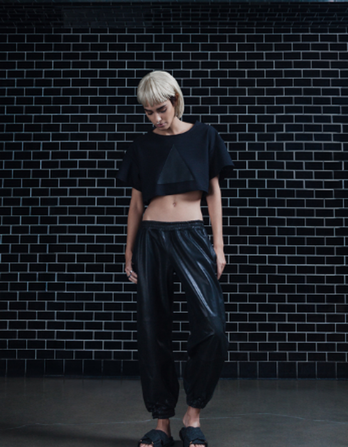 Symbol Crop Top & Agnes Trouser