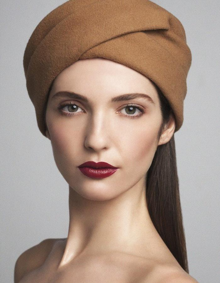 TURBAN IN WOOL