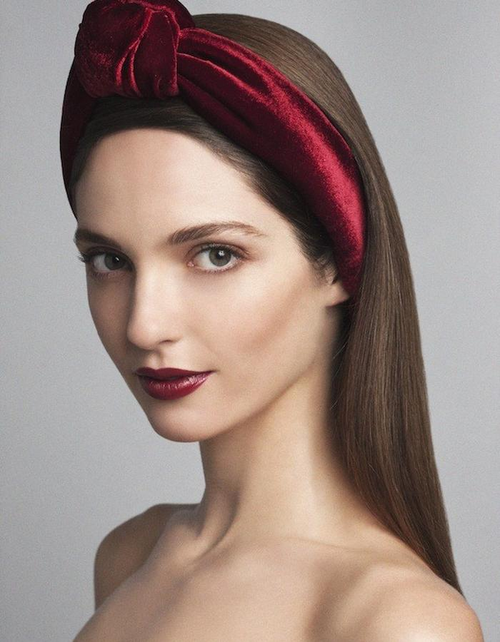 TURBAN IN SILK VELVET