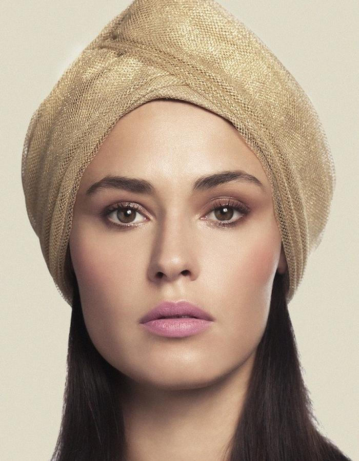 TURBAN IN TULLE