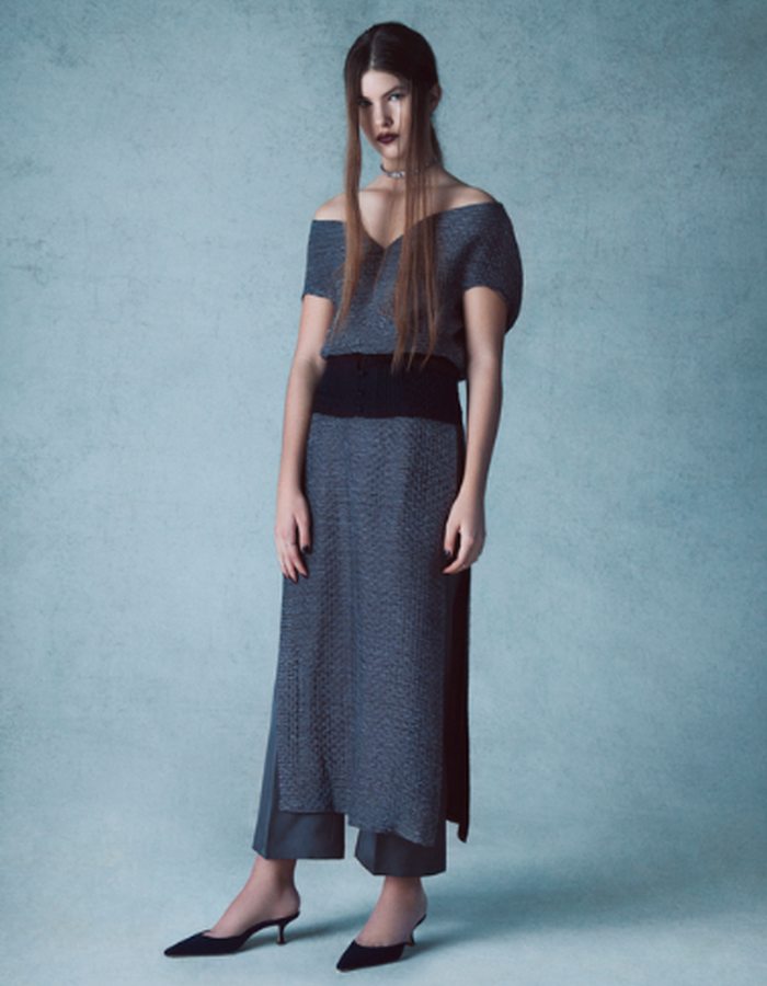 Emma Crop Top, Marlena Trouser & Cora Apron Skirt