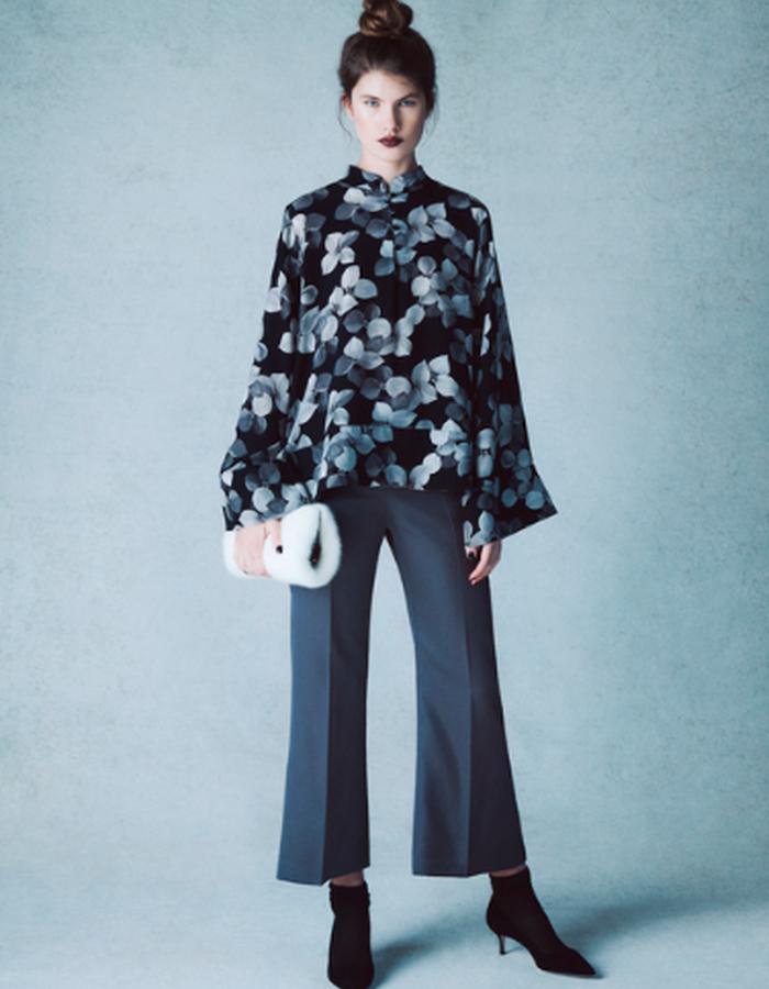 Frances Floral Tunic & Marlena Trouser