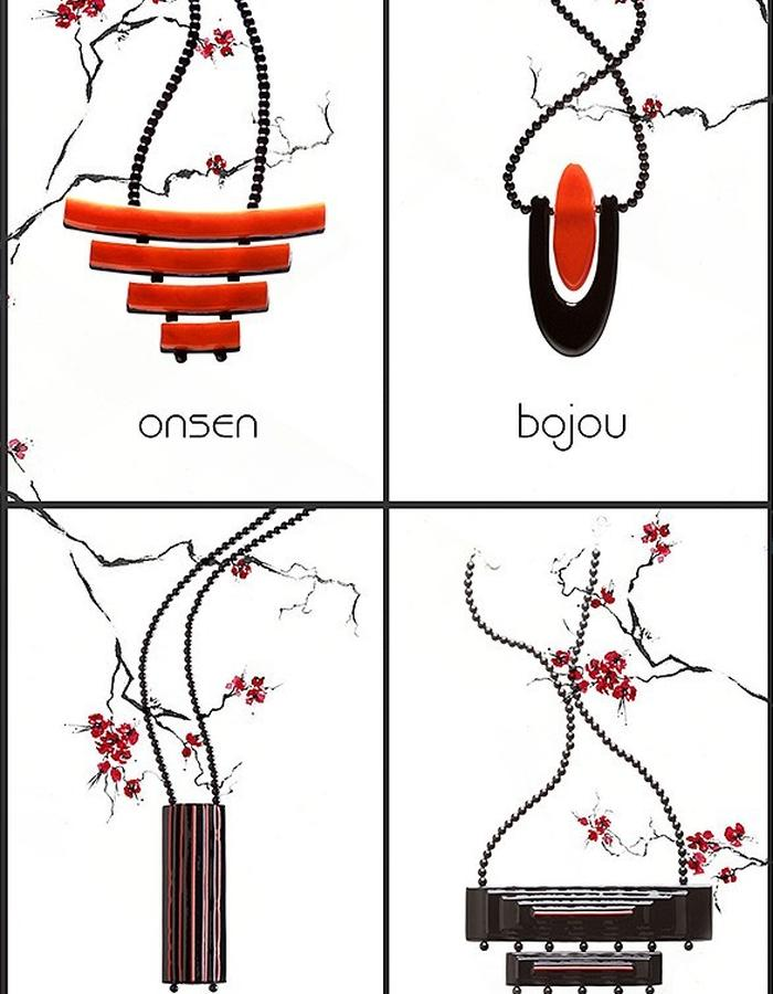 Faludi G jewellery, japonaise collection