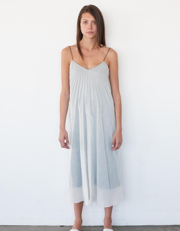 Sunburst Pleated Dress