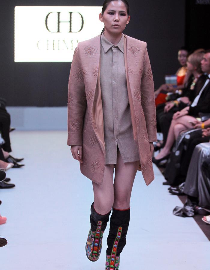 merinol wool blende silk hooded jacket