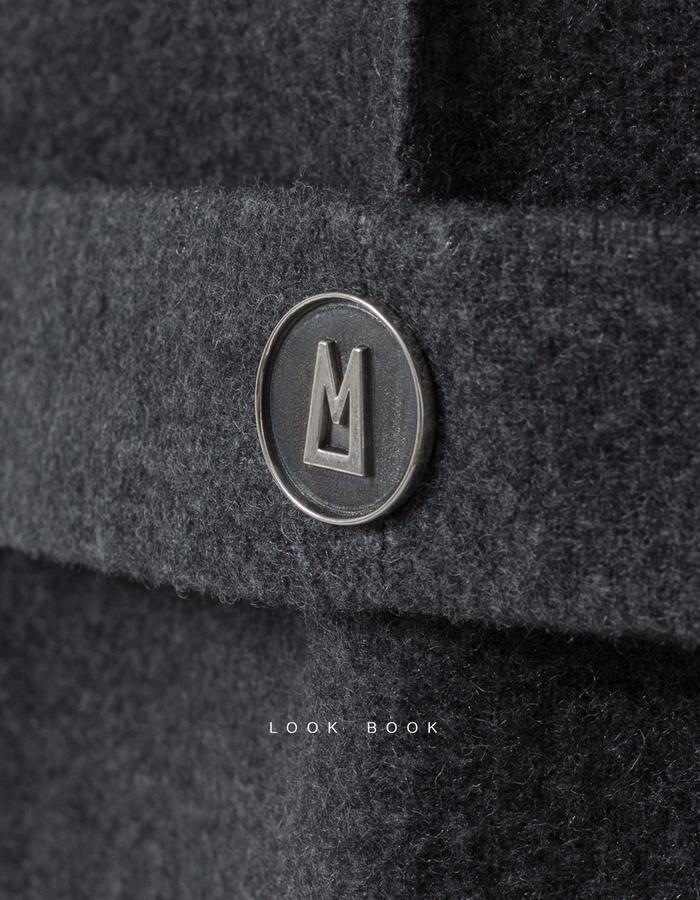 Silver button for Armadillo Concept Line