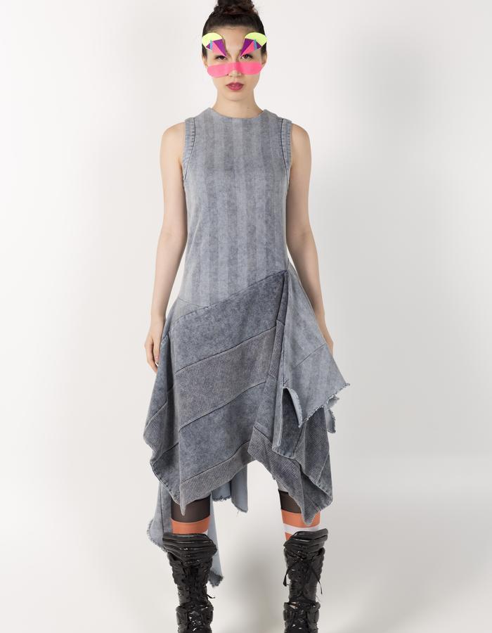 ASYMMETRIC VEST DRESS HKD 2480