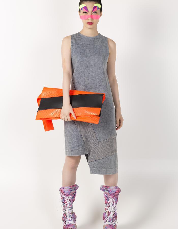 VEST BAG HKD 780 STRIPE VEST DRESS HKD 2480