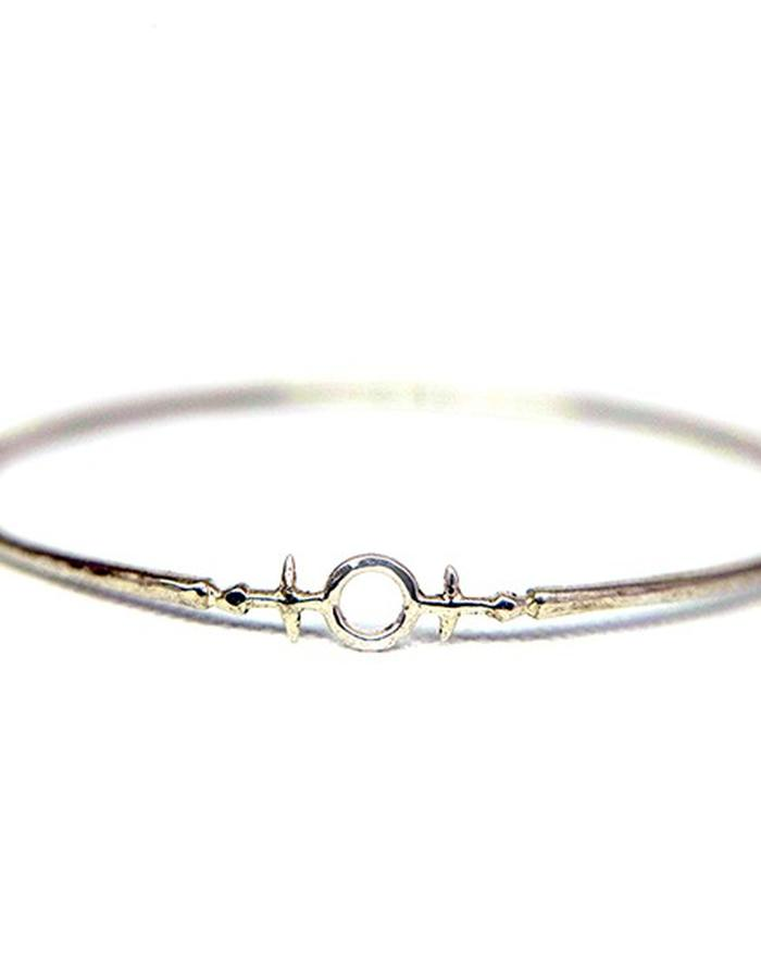 Millar Jewellery Aegishjalmur Bangle silver