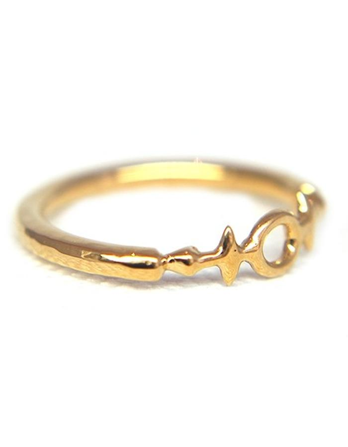 Millar Jewellery Aegishjalmur Ring yellow gold