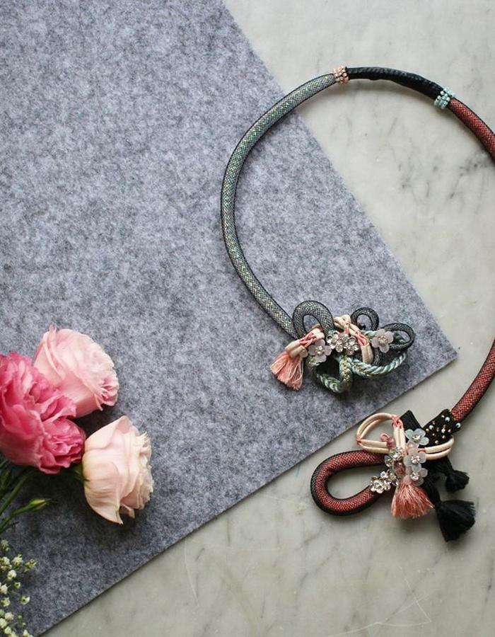 ARIEL.C Sakura necklace