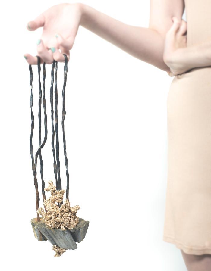 Souvenir. Bronze, concrete, resin, steel.  2013