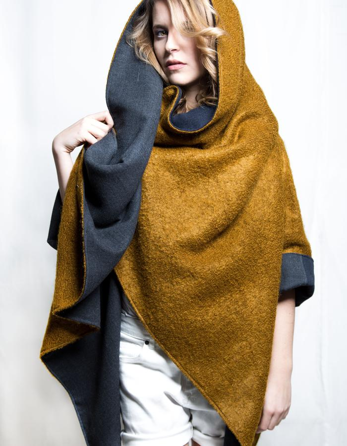 Zero-waste Cape, Reversible,