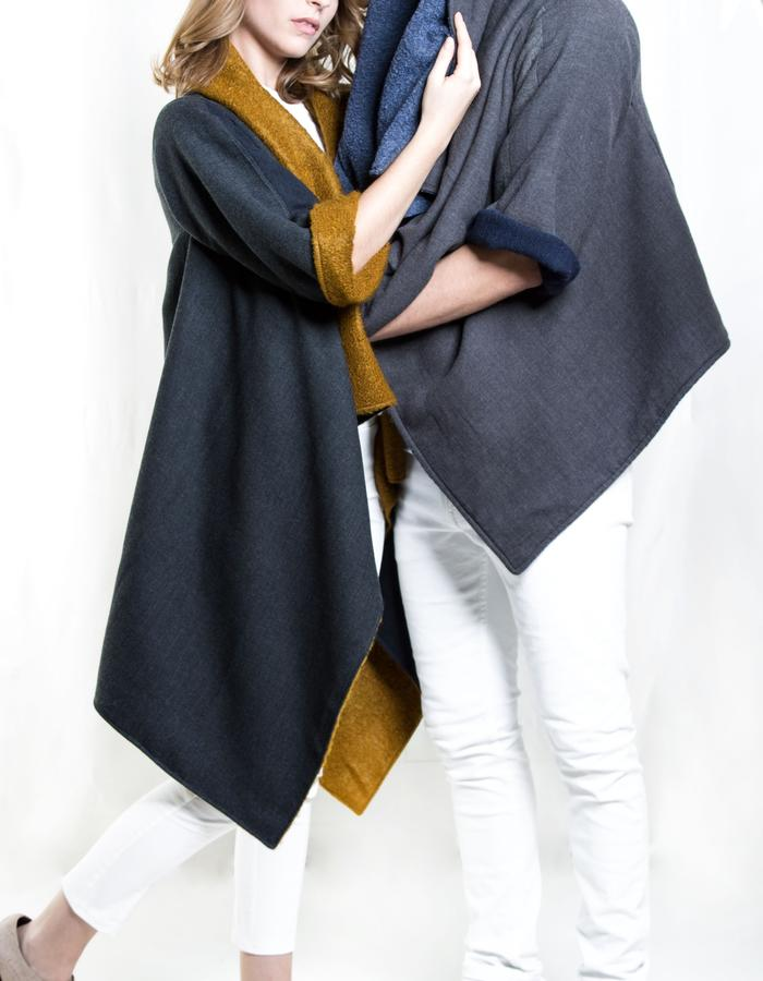 Zero-waste Cape, Reversible, Uni-sex