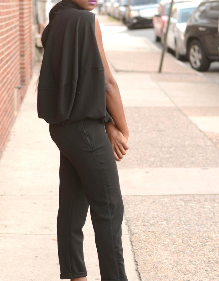 Skinny Pant; Fabric: Double Knit; Colors:Black