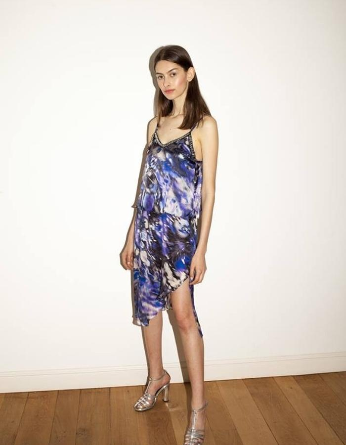 Silk layer dress by keren allouche