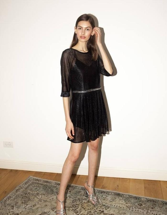 Pleated dress by keren allouche