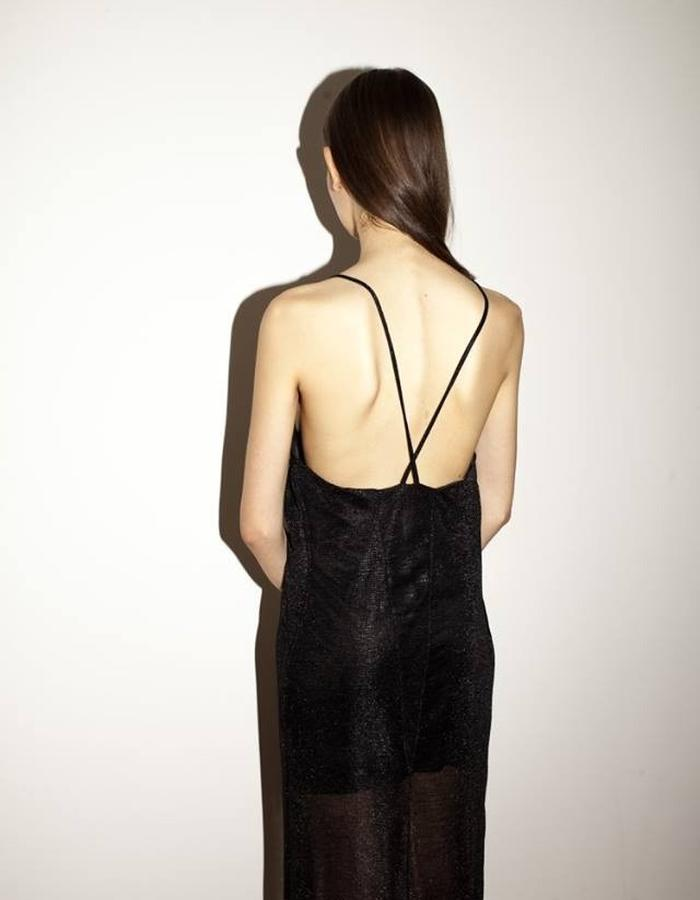 Open back maxi dress by keren allouche