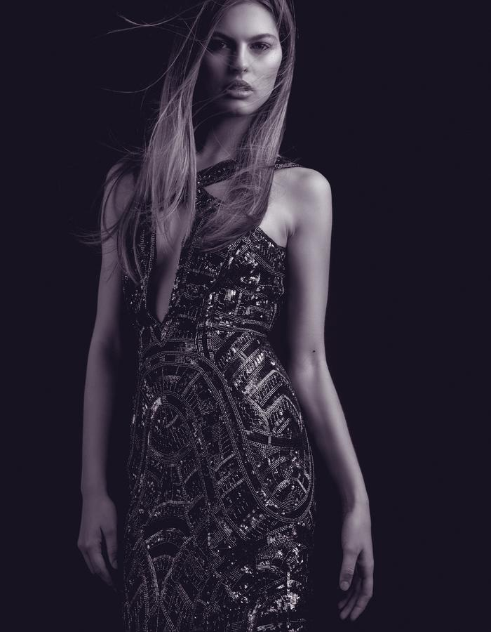 Aloura London - Estelle Gown Graphite
