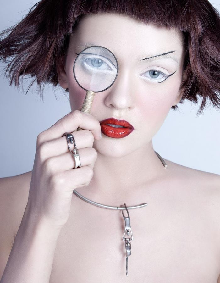 CircuS collection, contemporary silver jewelry by Ariadni Kypri
