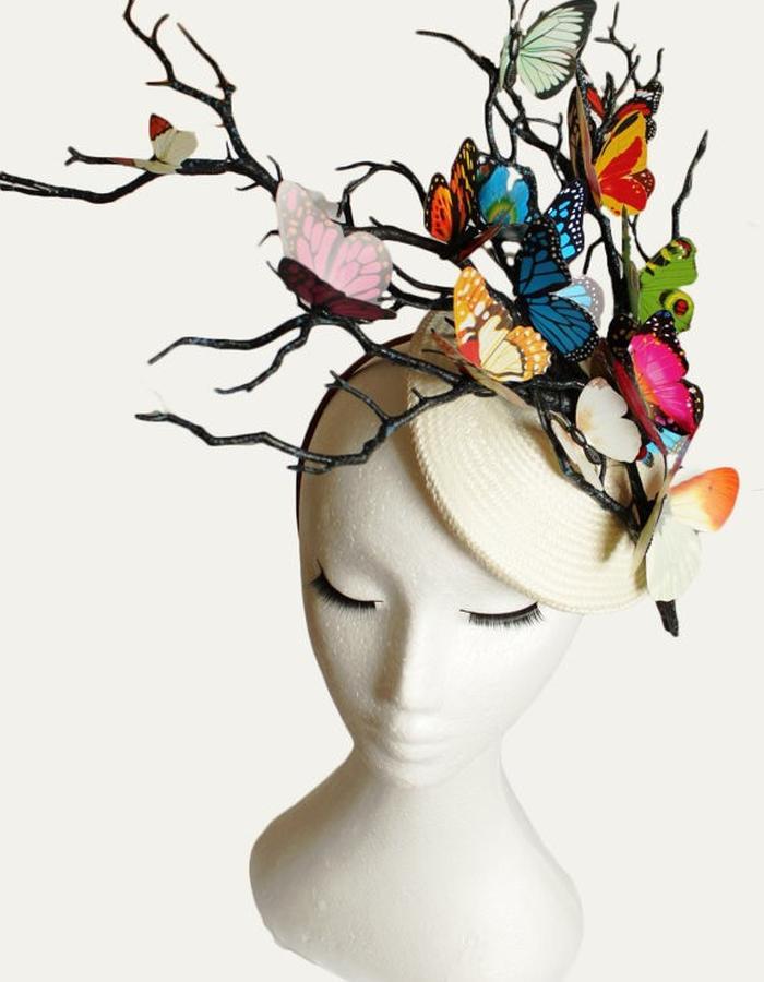 Colourful Butterfles Hat
