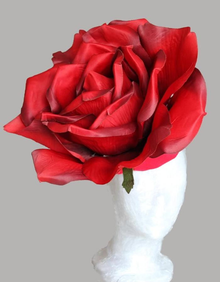 Giant Red Rose Hat