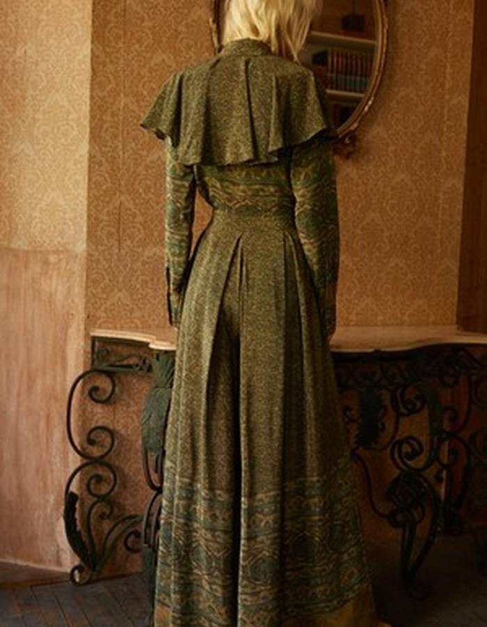 Amelie Blouse + Allegra Mosaic Pant