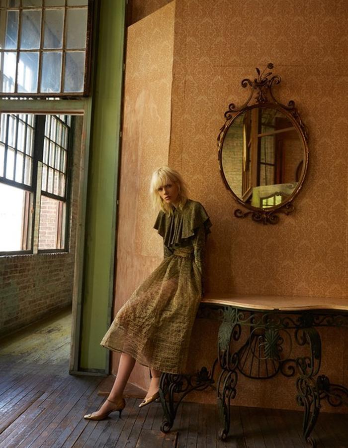 Amelie Blouse + Azalea Skirt