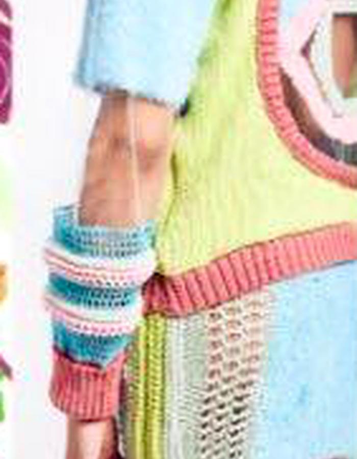 Transparent knit