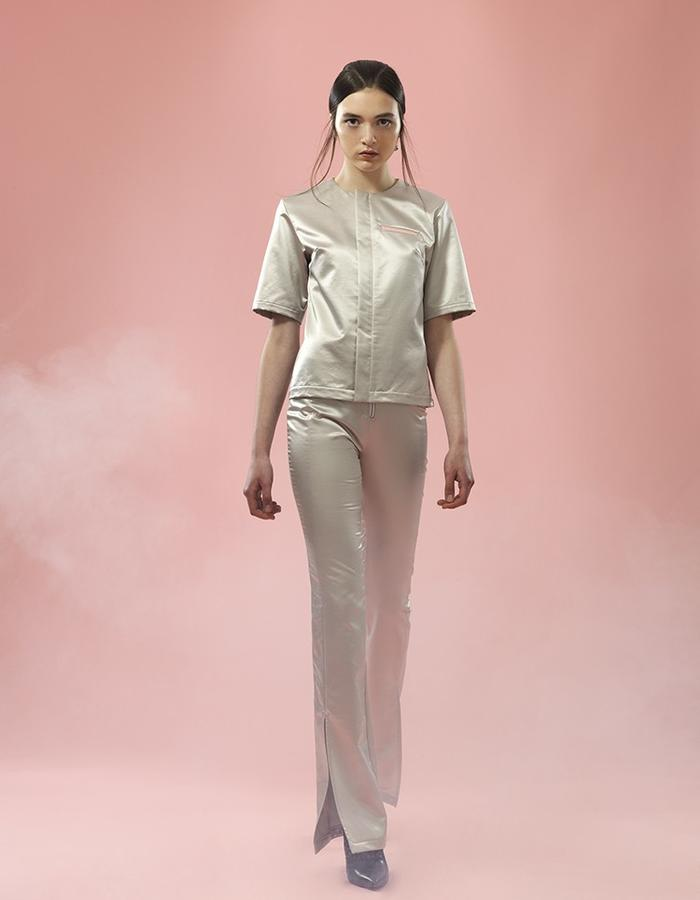 Hologram Zip Top | New World Trouser - Jojo Ross