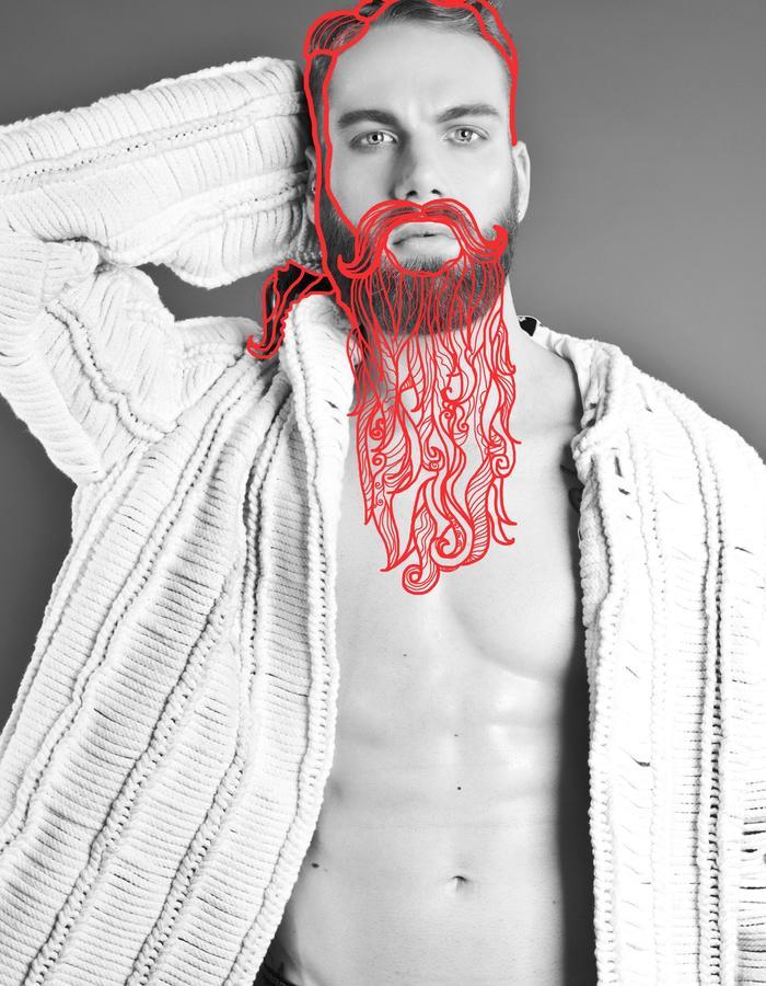 EditorialPhotoshoot  Barbe by Antonio Guzzardo