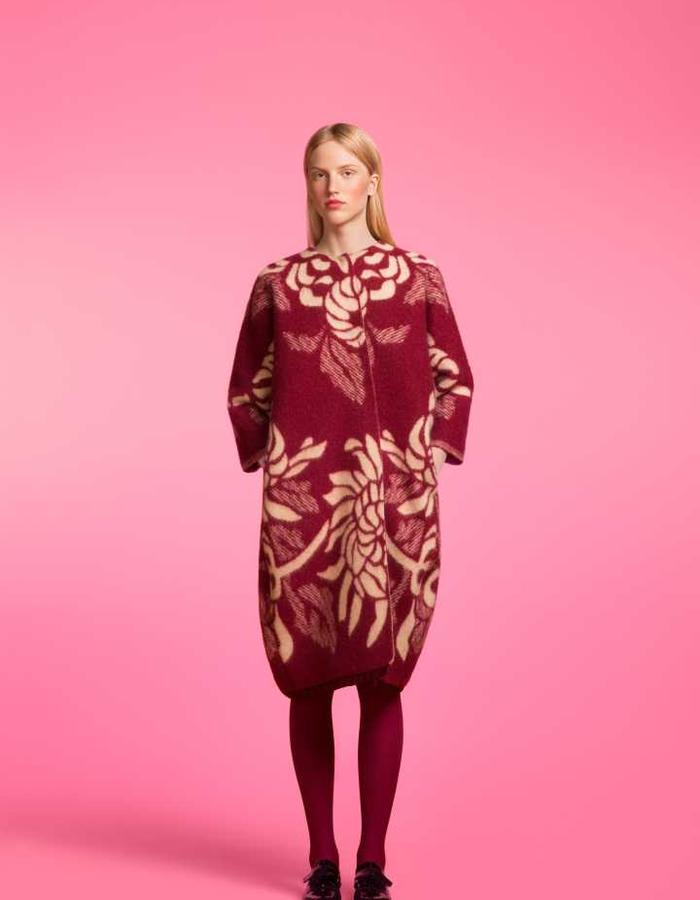 Longing For Sleep by Marit Ilison 2016 Collection II Cordovan Classic Coat