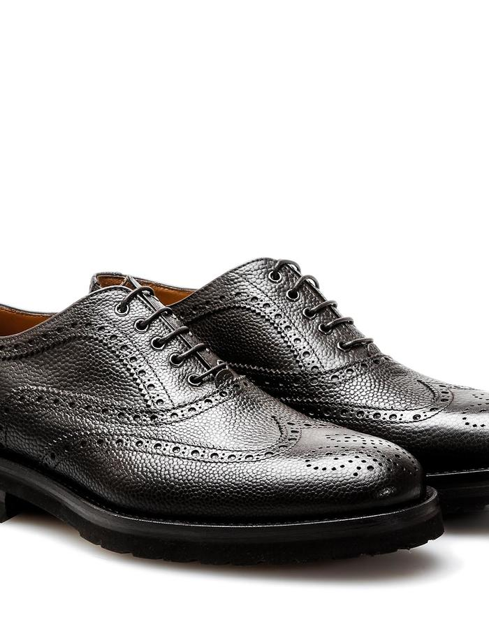 Da Vinci - Oxford Wing Brogue - Grain Coffee