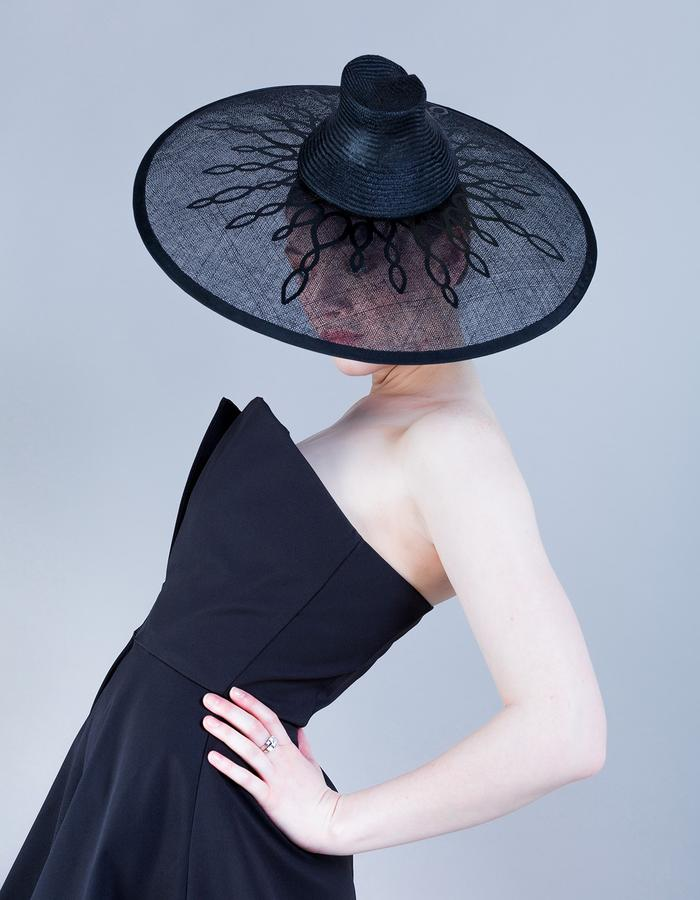 Sally-Ann Provan Millinery SS16 Collection – Vector Lotus, 'Aiko' Hat