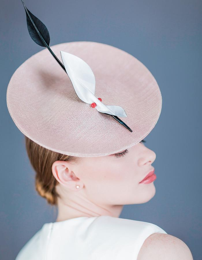 Sally-Ann Provan Millinery SS16 Collection – Vector Lotus, 'Maru' Hat