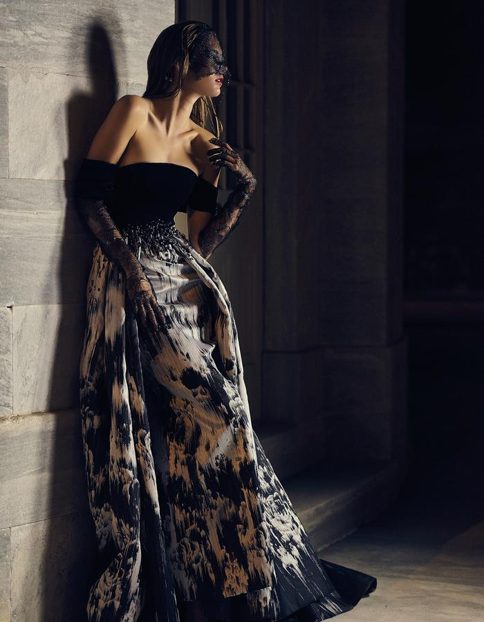 The Eveyln Gown