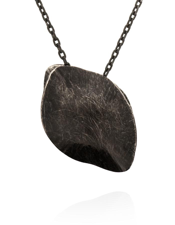 """Infinity"" Pendant - Black Silver"