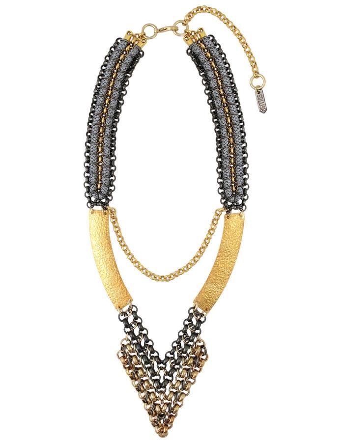 Tezca necklace by Sollis jewellery