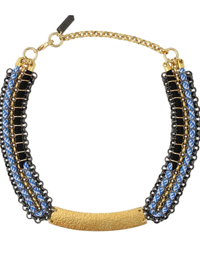 Tepe necklace by Sollis jewellery