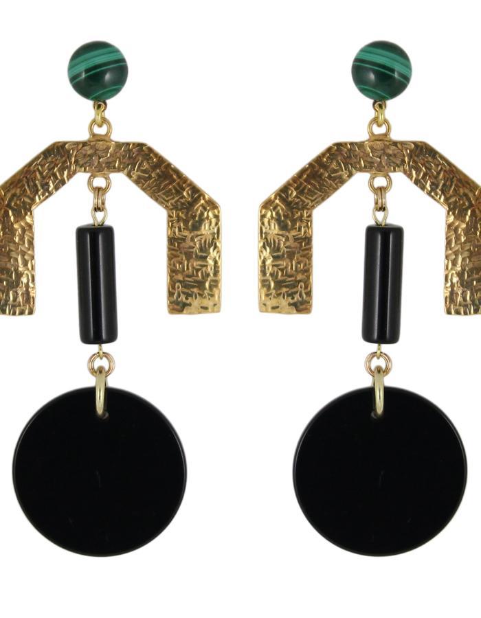 Raar earrings by Sollis jewellery