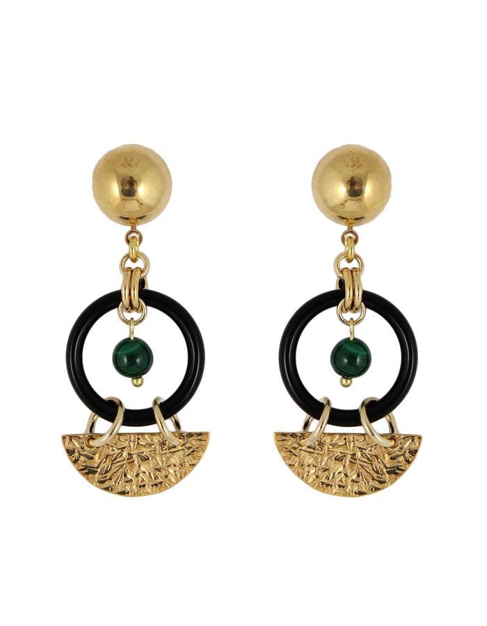 Eclipse earrings by Sollis jewellery