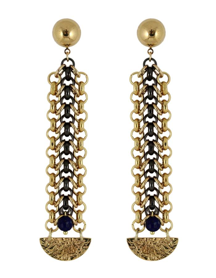 Sun earrings by Sollis jewellery