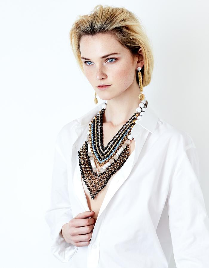 Aztec necklace by Sollis jewellery