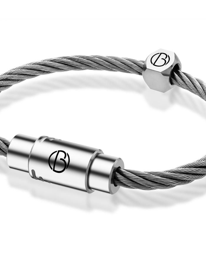 The CABLE™ stainless steel bracelet