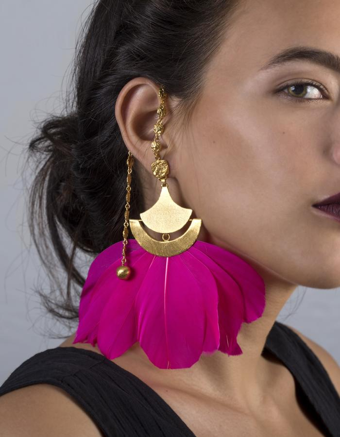 Venus earrings with extention