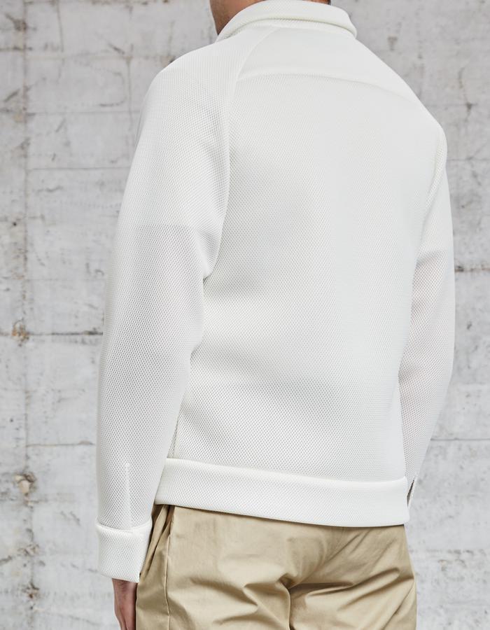 mesh off white jacket, £285