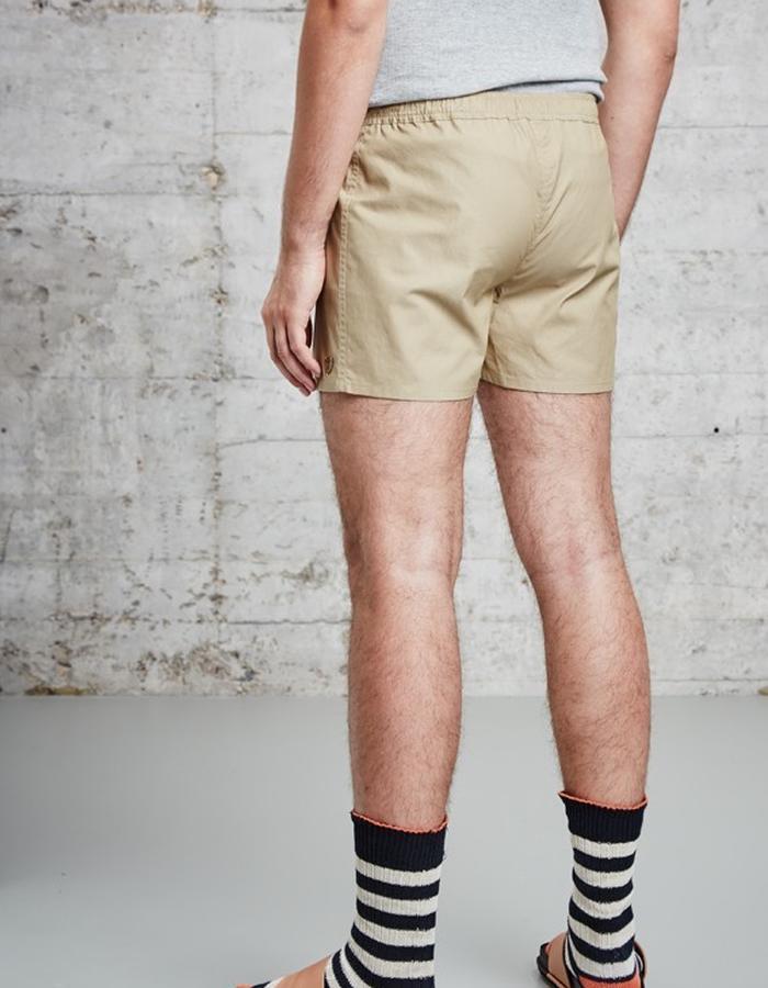 kaki cotton boxer short, £60