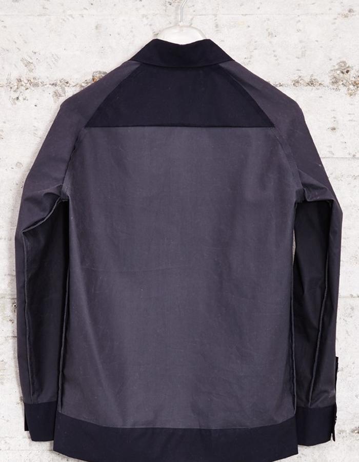 panelled cotton wax jacket, £229